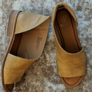 Shoes - Beast Fashion Lotus Flats in Mustard Yellow 🌼